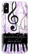 To The Lord - Purple IPhone Case