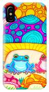 Toads And Toad Stools IPhone Case