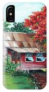 Tobago Country House IPhone Case
