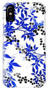 Toile Blue And White Tree IPhone Case