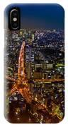 Tokyo At Night IPhone Case