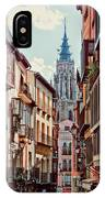 Toledo Cityscape IPhone Case