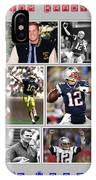 Tom Brady Football Goat IPhone Case
