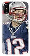 Tom Brady New England Patriots IPhone Case
