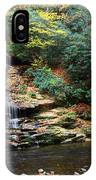 Tom Branch Falls In Nc IPhone Case