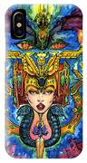 Fifth Dimensional Insight IPhone Case