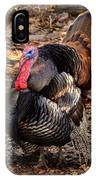 Tom The Turkey IPhone Case