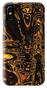 Tomatillo Abstract #2 IPhone Case