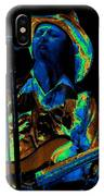 Tommy Caldwell Art 1 IPhone Case