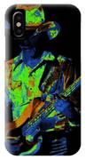 Tommy Caldwell Jamming IPhone Case