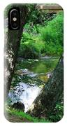 Toms Creek In Summer 3 IPhone Case