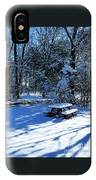 Too Cold To Picnic IPhone Case