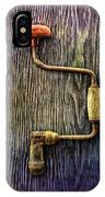 Tools On Wood 58 IPhone Case