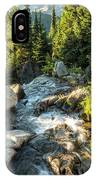 Top Of The Morning At The Top Of Myrtle Falls IPhone Case