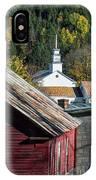 Topsham Village Vermont IPhone Case