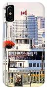 Toronto Island Ferry Arrives IPhone Case