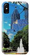 Toronto Wellington Street Park IPhone Case