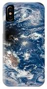 Total Solar Eclipse Casting Shadow IPhone Case