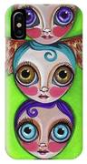 Totem Dolls IPhone Case