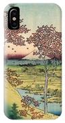 Toto Meguro Yuhhigaoka - Sunset Hill Meguro In The Eastern Capitol IPhone Case
