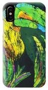 Toucan Fine Art Batik IPhone Case