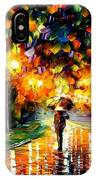 Touch Of Rain IPhone Case