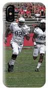 Rutgers Touchdown - Janarion Grant IPhone Case
