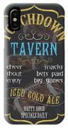 Touchdown Tavern IPhone Case