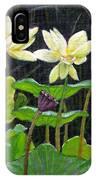 Touching Lotus Blooms IPhone Case