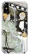 Toulouse-lautrec: Menu IPhone Case