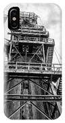 Tower At Bethlehem Steel IPhone Case by Bill Cannon