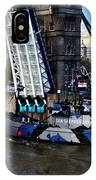 Tower Bridge And Boat IPhone Case