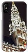 Brussels Tower Light IPhone Case
