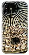 Tower Through Glass Dome In Bellagio Ceiling IPhone Case