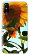 Towering Sunflower IPhone Case