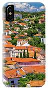 Town Of Drnis And Dalmatian Inland Panorama IPhone Case