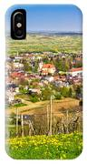 Town Of Ivanec Aerial Springtime View IPhone Case