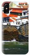 Town Of Porto Pim IPhone Case