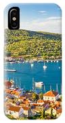 Town Of Vis Panorama From Hill IPhone Case