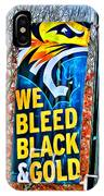 Towson Tigers Black And Gold IPhone Case