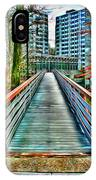 Towson University Walkway IPhone Case