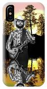 Toy Caldwell At Amber Lake 3 IPhone Case