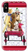 Toys In A Red Wagon IPhone Case