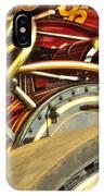 Traction Engine Steering Mechanism IPhone Case