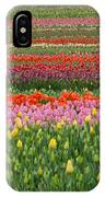 Tractor Among The Tulips IPhone Case