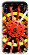 Tractor Big Wheel IPhone Case