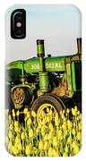 Tractor In A Field IPhone Case