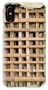 Traditional Bamboo Mud Wall Construction IPhone Case