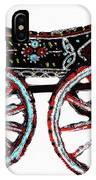 Traditional Painted Donkey Cart  IPhone Case
