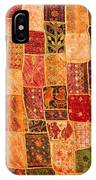 Traditional Patchwork Tapestry IPhone Case